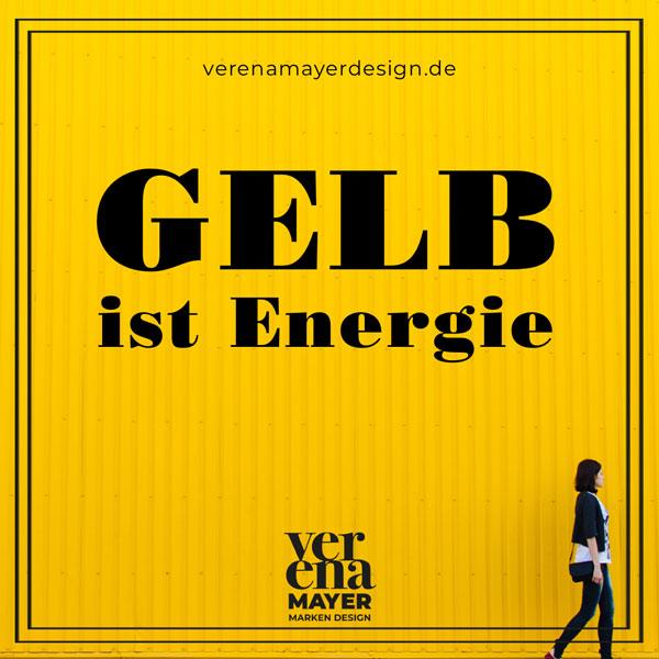 Gelb ist Energie