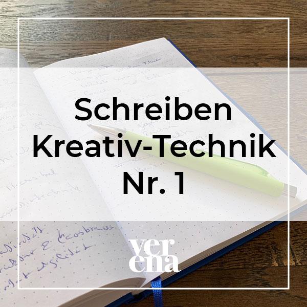 Schreiben kreativ technik nr1