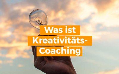 Was ist Kreativitäts-Coaching? Bietet das ein Life-Coach oder Business-Coach an?
