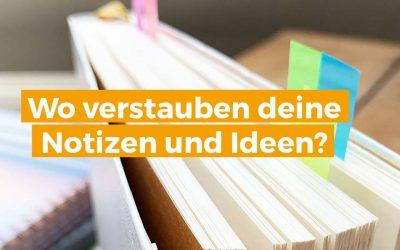 Notizbücher: So findest du deine besten Ideen wieder