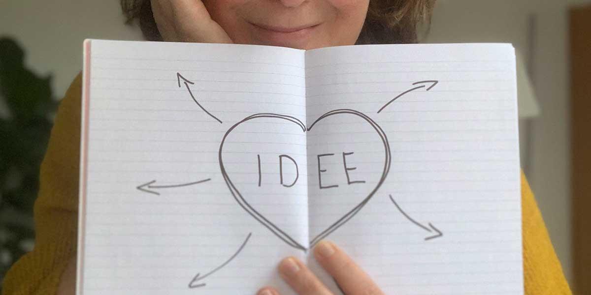 Ideen aus Notizbüchern umsetzen