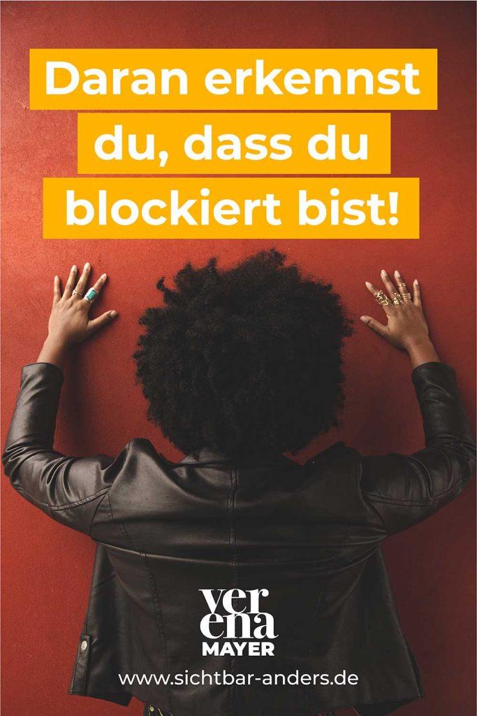 Hast du eine Blockade?