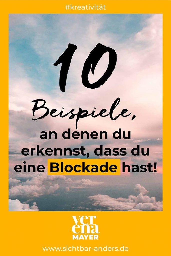 10 Beispiele für Blockaden