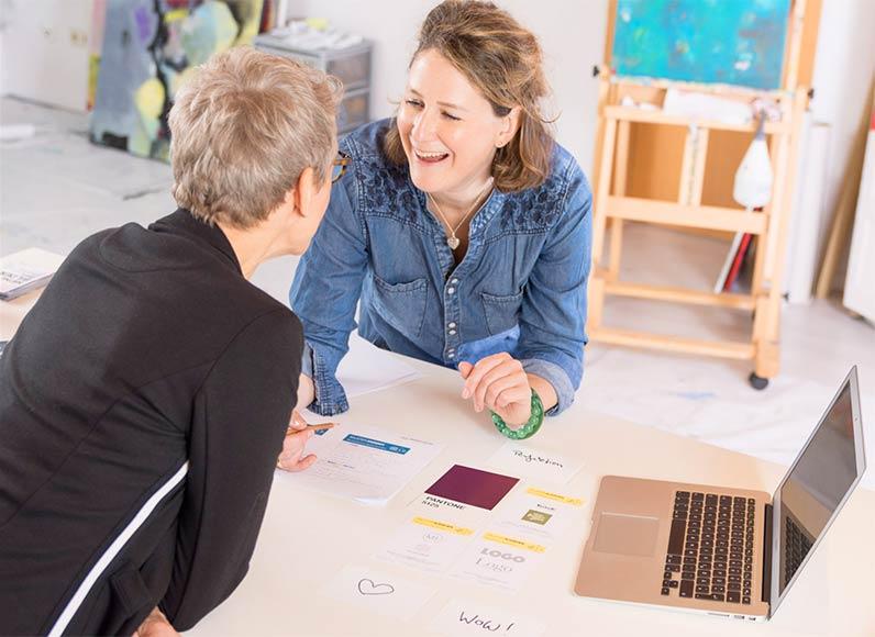 Talentcoaching beim Kreativitäts-Coach Verena Mayer-Kolbinger