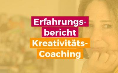 Erfahrungsbericht Autor – Kreativität-Coaching: Buch schreiben