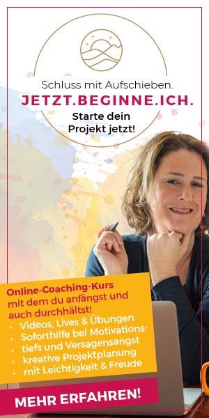 Anfangen und druchhalten Online Kurs