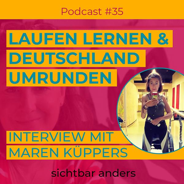 Podcast sichtbar anders Interview Tour der Freiheit