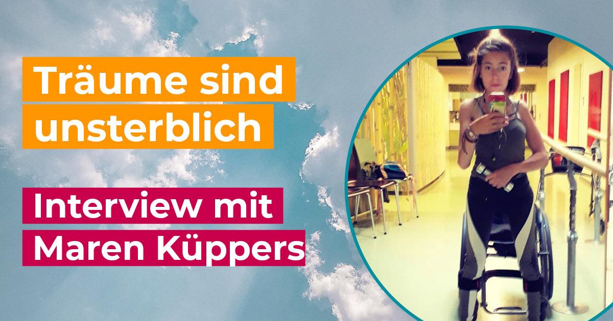 Tour der Freiheit Interview mit Maren Küppers